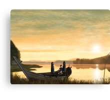 Idylls of the King Canvas Print