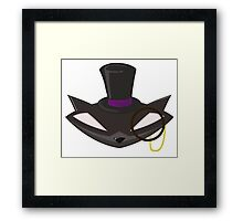 The Gentleman Thief Emblem Framed Print