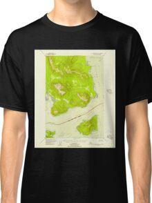 USGS TOPO Map Alaska AK Mount Fairweather B-1 357582 1948 63360 Classic T-Shirt