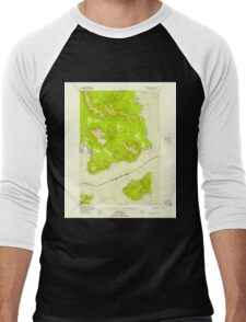 USGS TOPO Map Alaska AK Mount Fairweather B-1 357582 1948 63360 Men's Baseball ¾ T-Shirt