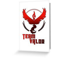 Team Valor! - Pokemon Greeting Card
