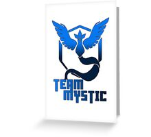 Team Mystic! - Pokemon Greeting Card