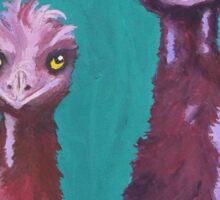 Emu Watch Sticker
