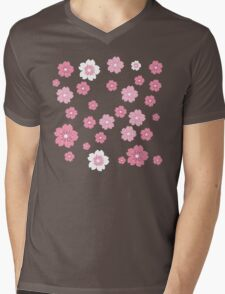 cherry blossoms Mens V-Neck T-Shirt