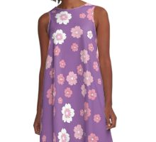 cherry blossoms A-Line Dress
