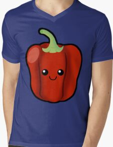 Red Pepper  Mens V-Neck T-Shirt