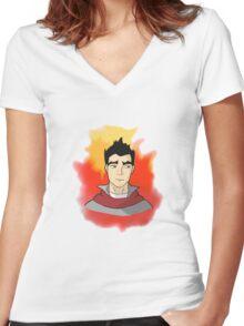 Mako! Women's Fitted V-Neck T-Shirt