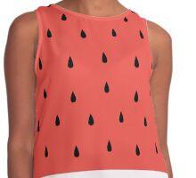 Watermelon Contrast Tank