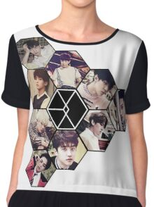 "EXO ""Love Me Right"" Chiffon Top"
