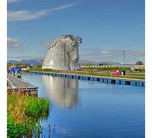 The Kelpies, Helix Park, Scotland Photographic Print