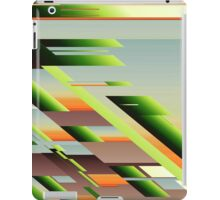 Abstract (Build a Hill) iPad Case/Skin