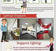 Light Fittings Singapore by InteriorDesigne