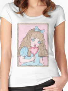 Sad Candy Women's Fitted Scoop T-Shirt