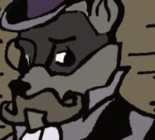 The Gentleman Thief Portrait Sticker