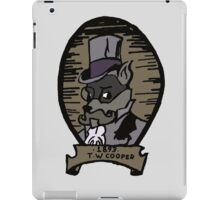 The Gentleman Thief Portrait iPad Case/Skin