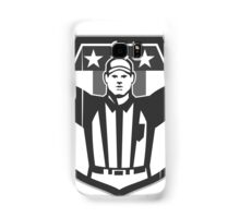 American Football Official Referee Grayscale Samsung Galaxy Case/Skin