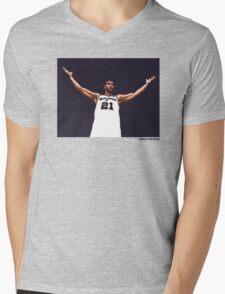 Tim Duncan Retirement Special Edition - SMILE DESIGN Mens V-Neck T-Shirt
