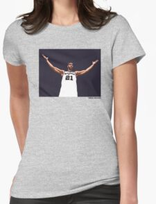 Tim Duncan Retirement Special Edition - SMILE DESIGN Womens Fitted T-Shirt
