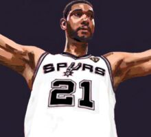 Tim Duncan Retirement Special Edition - SMILE DESIGN Sticker