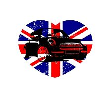 MINI BRITISH  by karmadesigner