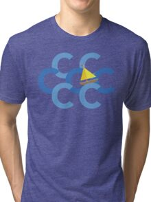 Sail The Seven Cs Tri-blend T-Shirt