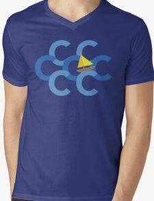 Sail The Seven Cs Mens V-Neck T-Shirt