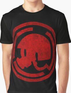 Danganronpa- Naegi Gas Mask symbol Graphic T-Shirt