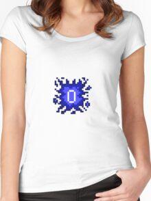 Old School RuneScape - 0HP Damage Splash Women's Fitted Scoop T-Shirt
