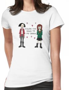 Jane to my Daria Womens Fitted T-Shirt