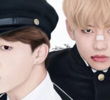 V and Jimin - BTS Sticker