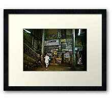 A Lobby in Mumbai Framed Print