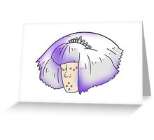 Ice Girl Greeting Card