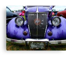 Hot Rod Mama Grill Canvas Print