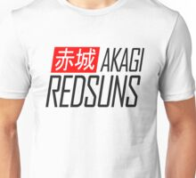 Akagi RedSuns - Initial D (Black) Unisex T-Shirt