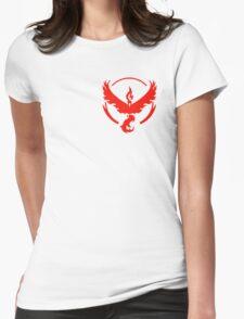 Team Valor Pokemon Womens Fitted T-Shirt