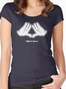 Different Heaven Hands Women's Fitted Scoop T-Shirt
