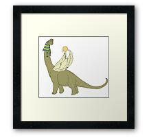 Brachiosaurus-Ra Framed Print
