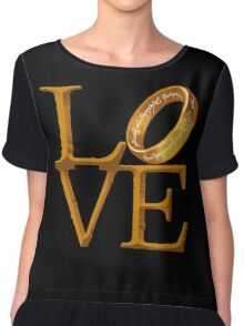 Love is Precious Chiffon Top