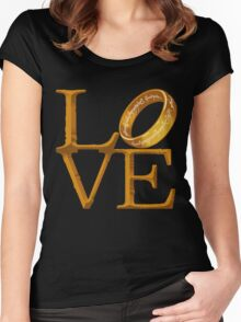 Love is Precious Women's Fitted Scoop T-Shirt