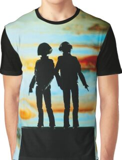 Robots from Jupiter Graphic T-Shirt