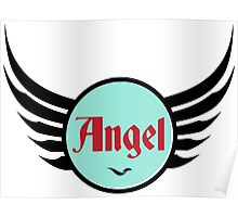 Angel - Cool and Funny Gift Design Poster