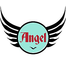 Angel - Cool and Funny Gift Design Photographic Print