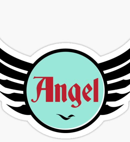 Angel - Cool and Funny Gift Design Sticker