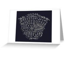 Ouija bored Greeting Card