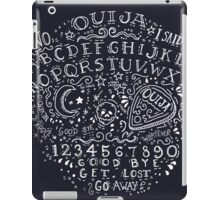 Ouija bored iPad Case/Skin