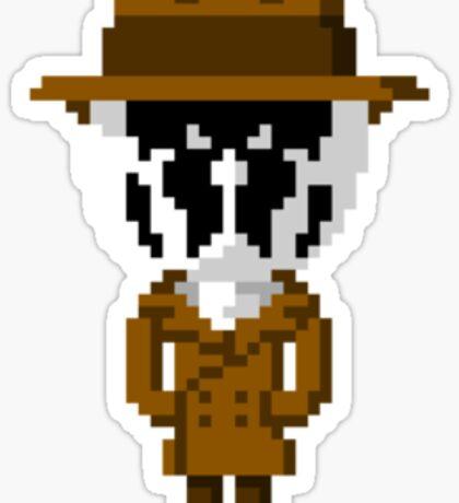 Rorschach Pixels Sticker