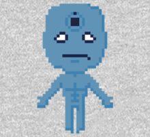 Dr. Manhattan Pixels Baby Tee