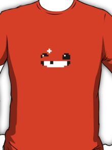 Super Meat Boy Face Pixels T-Shirt