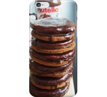 Nutella pancakes pile iPhone Case/Skin