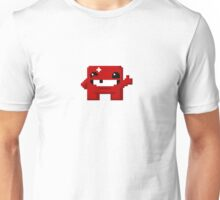 Super Meat Boy Pixels Unisex T-Shirt